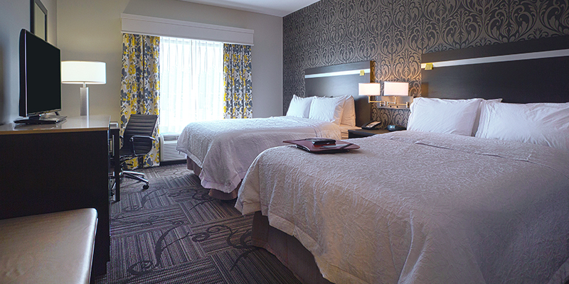 The Newly Developed Hampton Inn  U0026 Suites Located In The