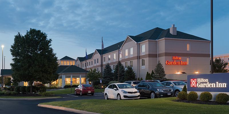 Hilton garden inn developed by indus in the columbus airport area Hilton garden inn columbus ohio airport